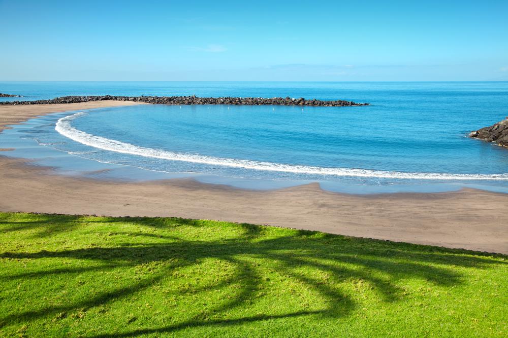 Beach in popular Las Americas