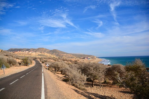 Enjoy a scenic drive on holiday in Agadir, Morocco
