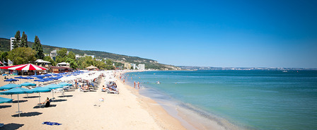 Varna beach Bulgaria
