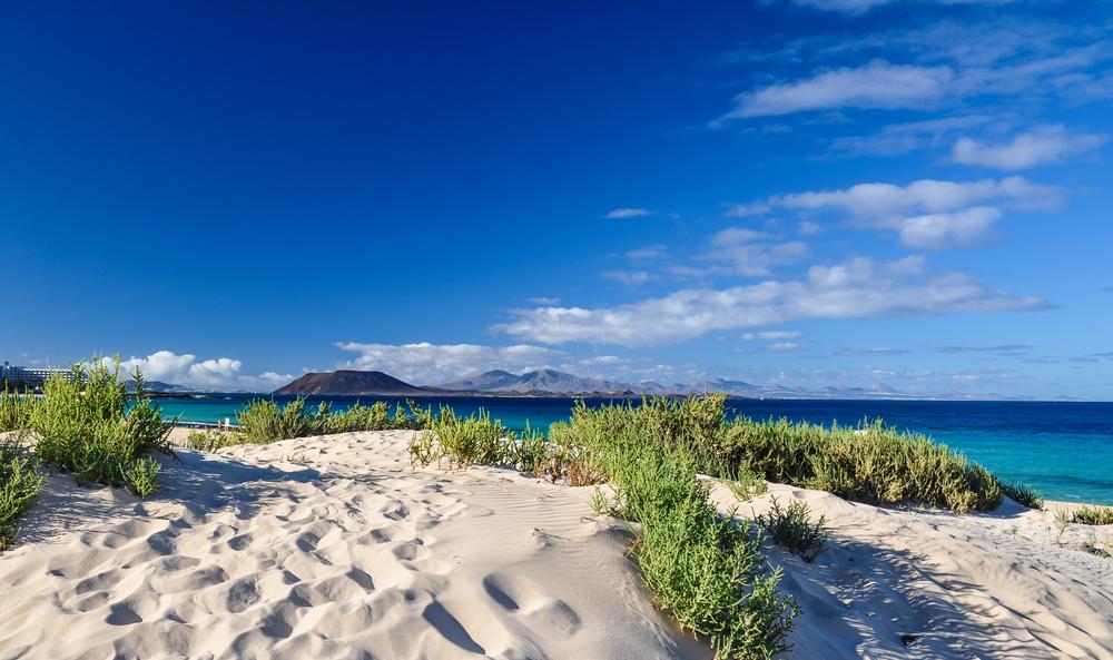 A wild beach of Correlejo