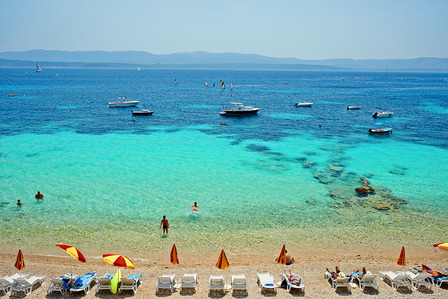 Adriatic Beach Croatia