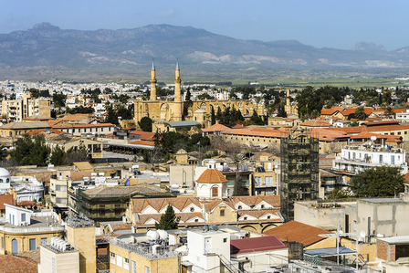 View of Nicosia Cyprus
