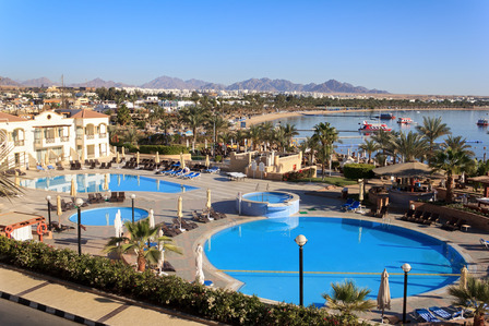 Naama Bay resort Egypt