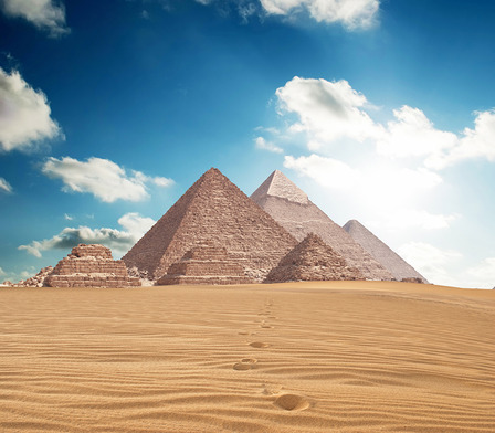 Egyptian Pyramids in Giza