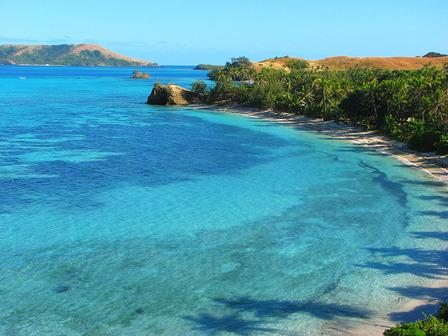 FIJI-Nacula island, Yasawa Islands, Fiji