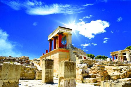 Heraklion Ruins Greece