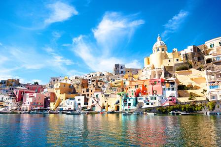 Procida Naples Italy