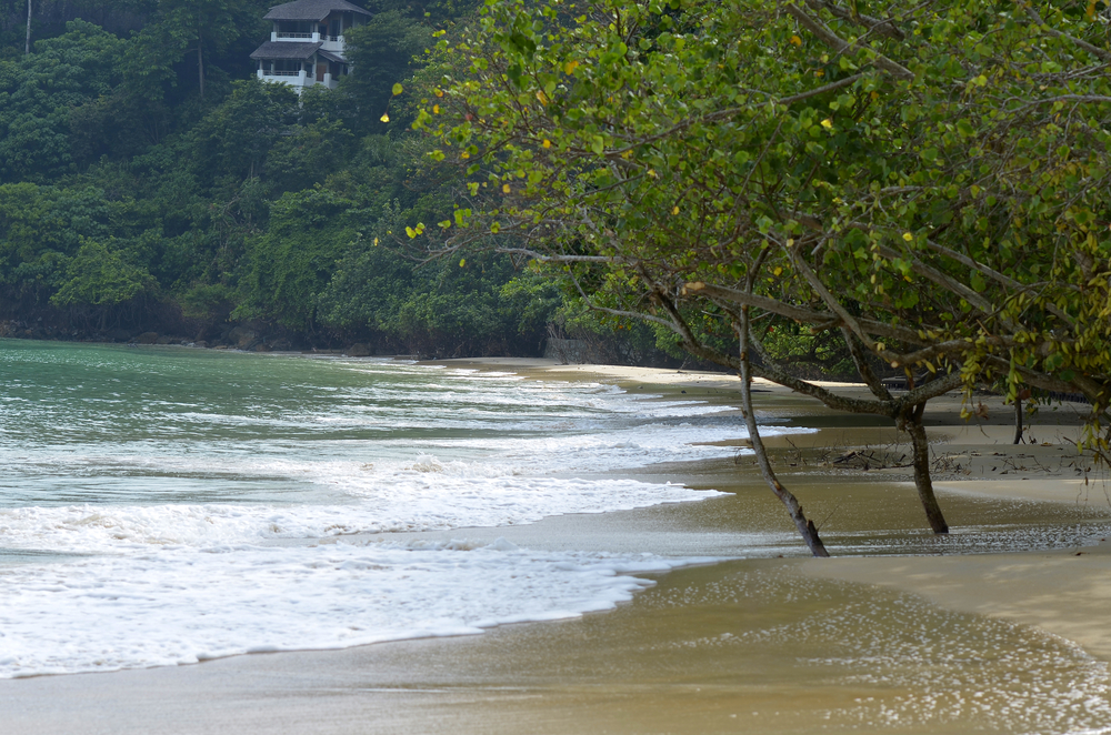 Relax on the many beaches on the island