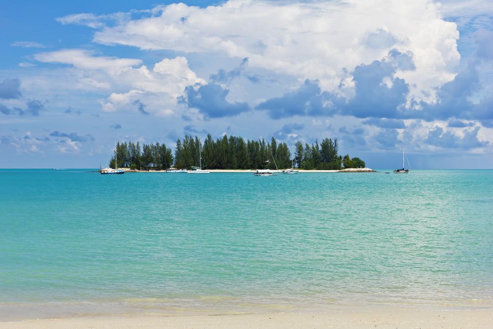 Stunning views of the tropical Langkawi