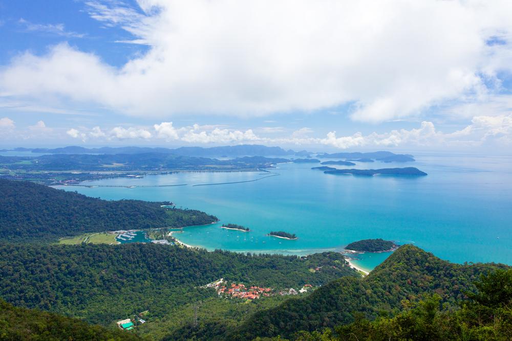 The beautiful landscape of Langkawi