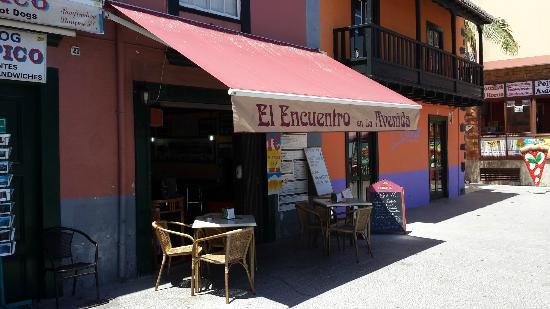 Bar Arepera El Encuentro La Palma Santa Cruz