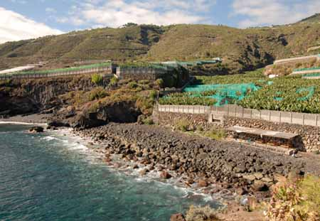 Cala de Martin Luis cove and beach La Palma