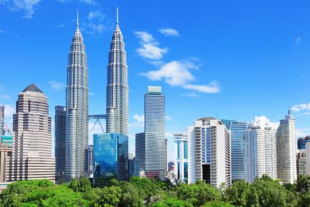 Kuala Lumpur City skyline Malaysia
