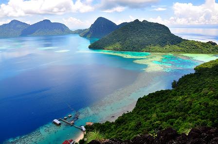Malaysia Blue Lagoon