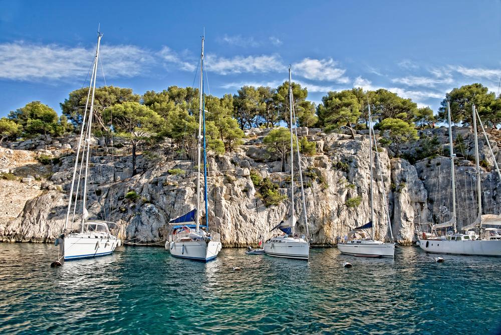 Calanque between Marseille