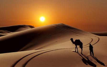 Merzouga Morocco sand dunes