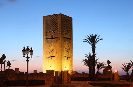 Rabat town square Morocco