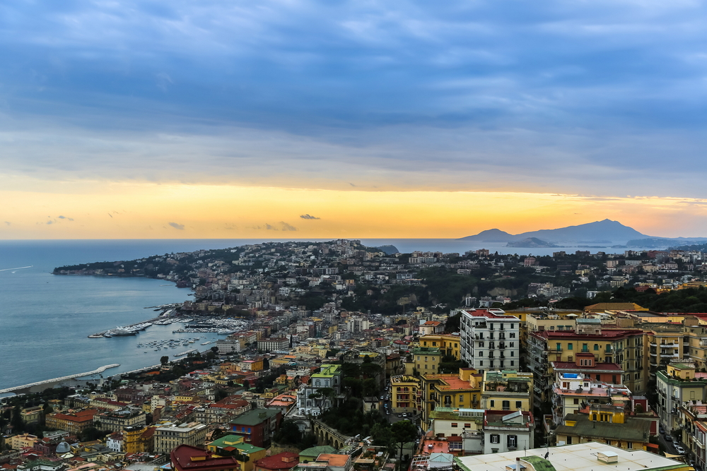 Naples by sunset