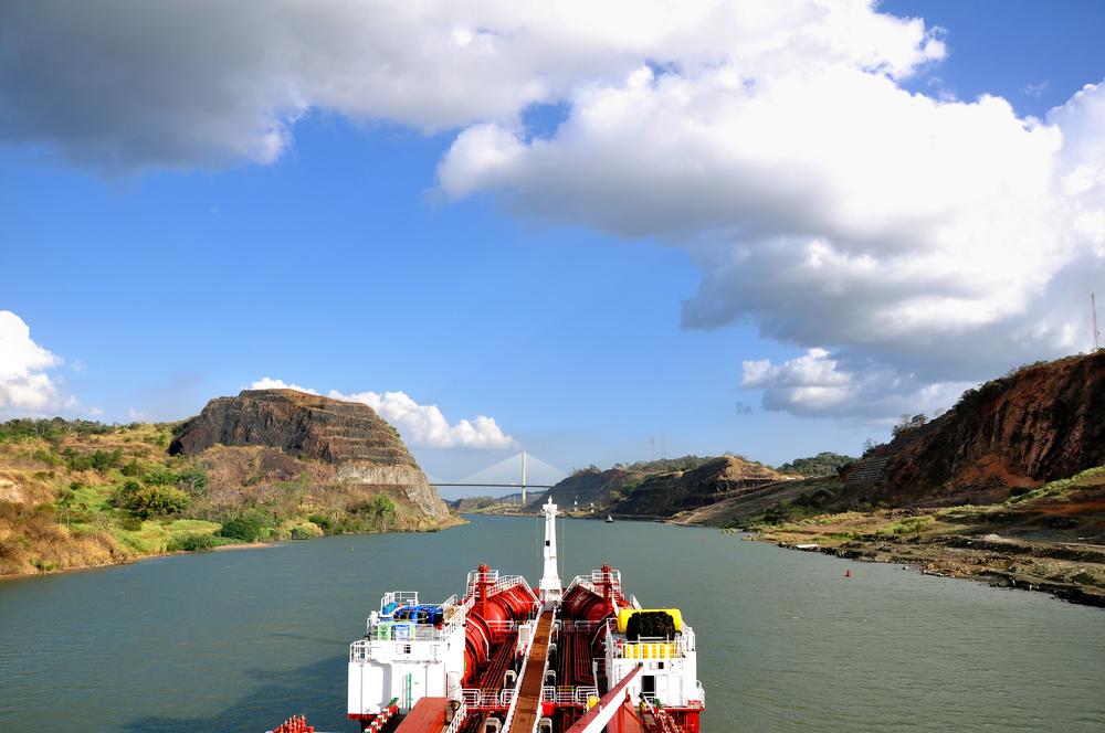Sail down the Panama Canal