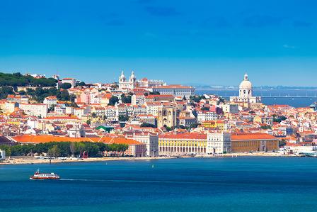Lisbon Skyline Portugal