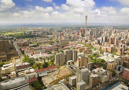 SOUTH-AFRICA Beautiful Johannesburg Skyline