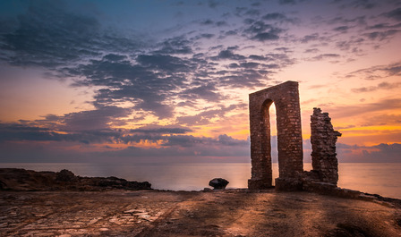 ancient ruins Mahdia Tunisia