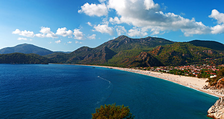 Oludeniz beach Turkey Black Sea Coast