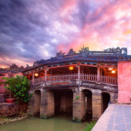 Hoi An Vietnam sunset