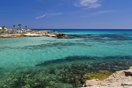 Cyprus Ayia Napa blue waters resort