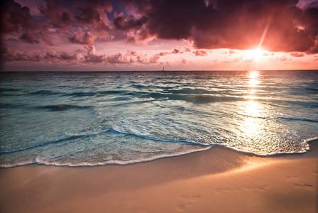sunset dominican republic bavaro